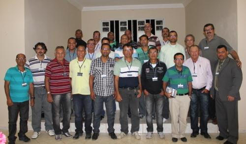Participantes do 5º Congresso Sinodal do Noroeste da Bahia